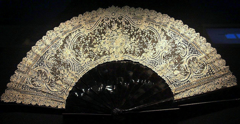 Brugge lace was popular among the European royalty