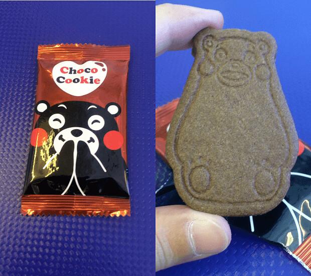 160912 くまもんチョコクッキー