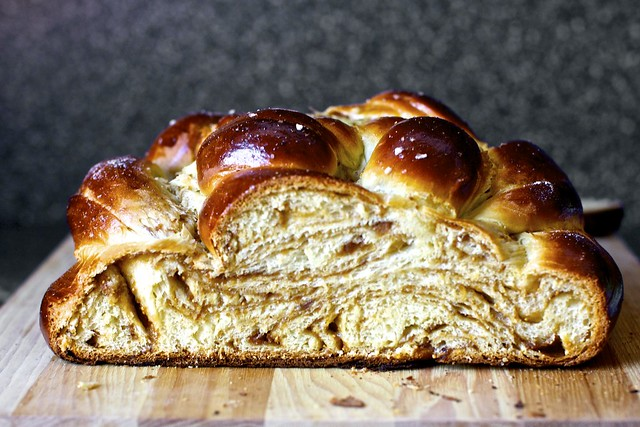 fig,olive oil and sea salt challah