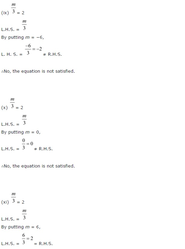 NCERT CBSE Solutions for Class 7 Maths Chapter 4 Simple Equations