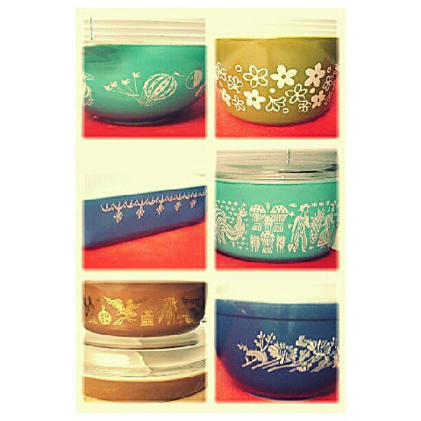 More of the #pyrex my mom found for me. <3