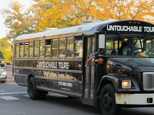 Chicago Untouchable Tours Bus