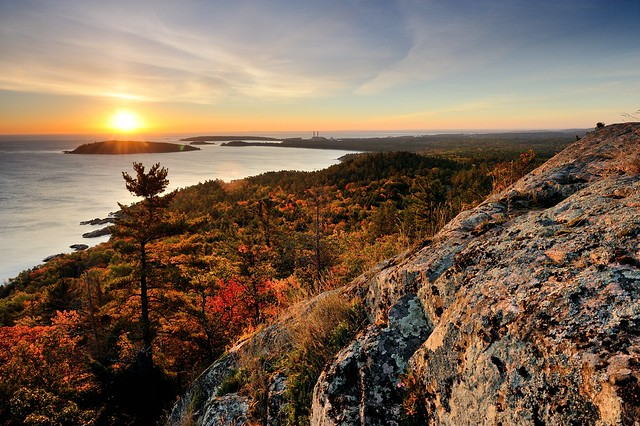 Michigan Fall Colors Wallpaper Quot Sugarloaf Mountain Sunrise Quot Marquette Michigan Flickr