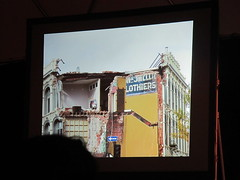Slide from Mark Spurgeon's Pechakucha talk on signage