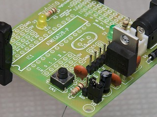 S2Duino (9-1) Reset Switch and Reset Pin Pullup Resistor