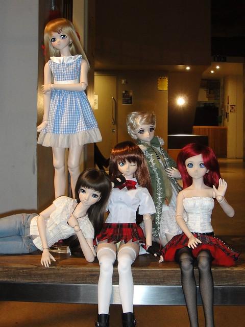 Annalise, Moe, Ryomou, Niimi and Inari