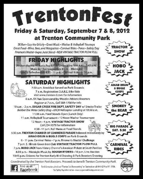 Trentonfest 9-7, 9-8-12