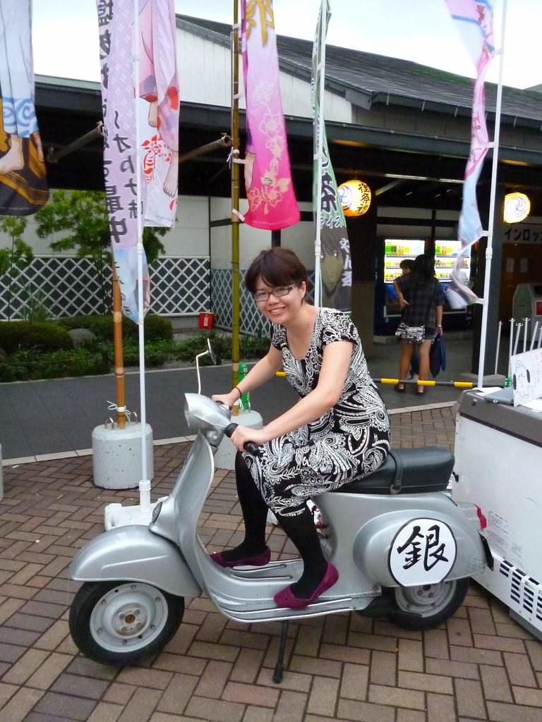 Gintoki's motorcyle