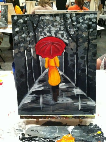 done!: painting with a friend