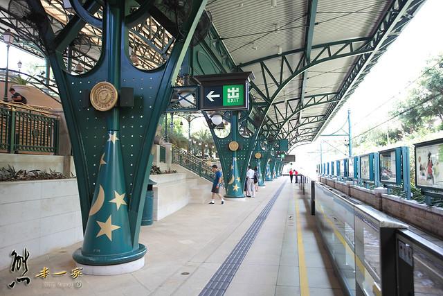 【香港自遊行】迪士尼站Disneyland Resort 地鐵站~前往童話世界之路 - 熊本一家の愛旅遊瘋攝影