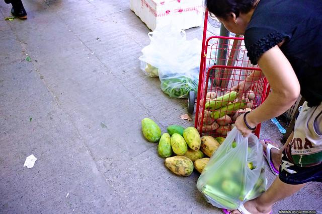 Bargain fresh produce