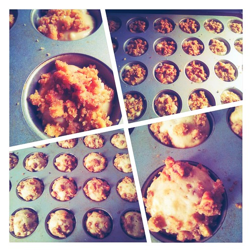 Brandied Pear and Honey Muffins