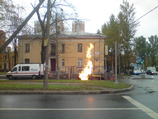 Хорошо горит // It burns well