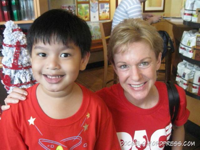 gabby-with-us-ambassador-kristie-kenney NOV 15, 2009