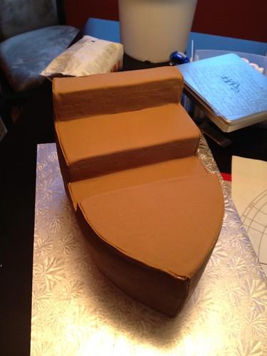Pirate Ship Birthday Cake (3/6)