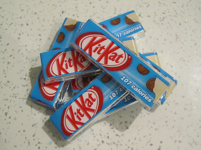 Cookies & Cream Kit Kats (UK)