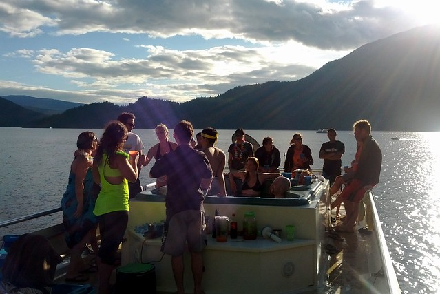 Shuswap Hot Tub