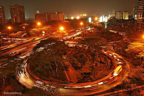 Jakarta never sleep