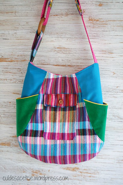 eco-friendly 241 colorful and funky tote