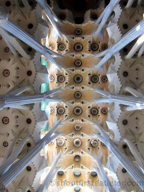 Aisle Vaults, Sagrada Familia