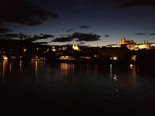 Charle's bridge and Prague Castle