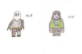 lego revenge - rock & scar