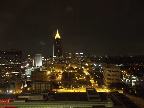 From the 24th floor Atlanta looks lovely