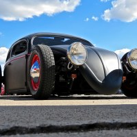 Woodward Dream Cruise: VW Beetle Rat Rod