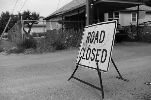 Road Closed by MyDarkroom