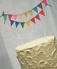 Ava's custom rainbow (inside) cake
