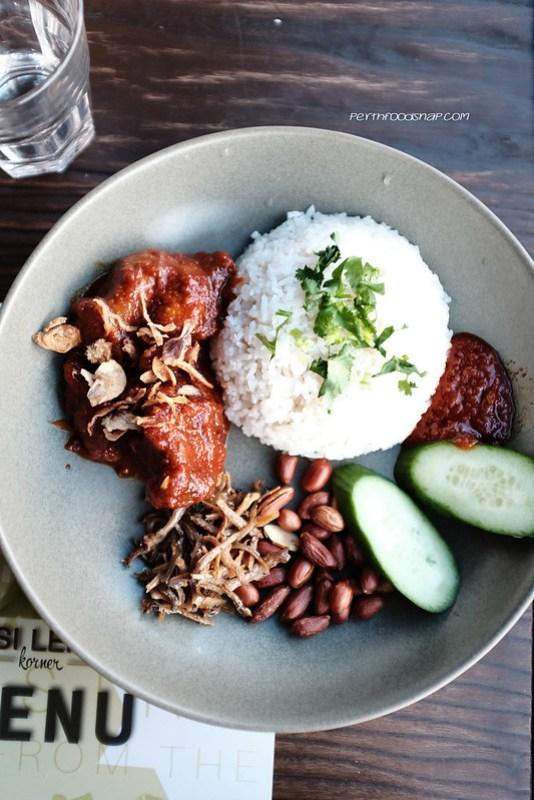Nasi Lemak Sambal Ayam @Nasi Lemak Corner