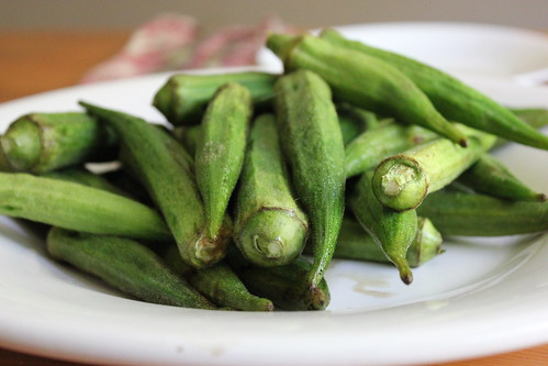 delicious grilled okra