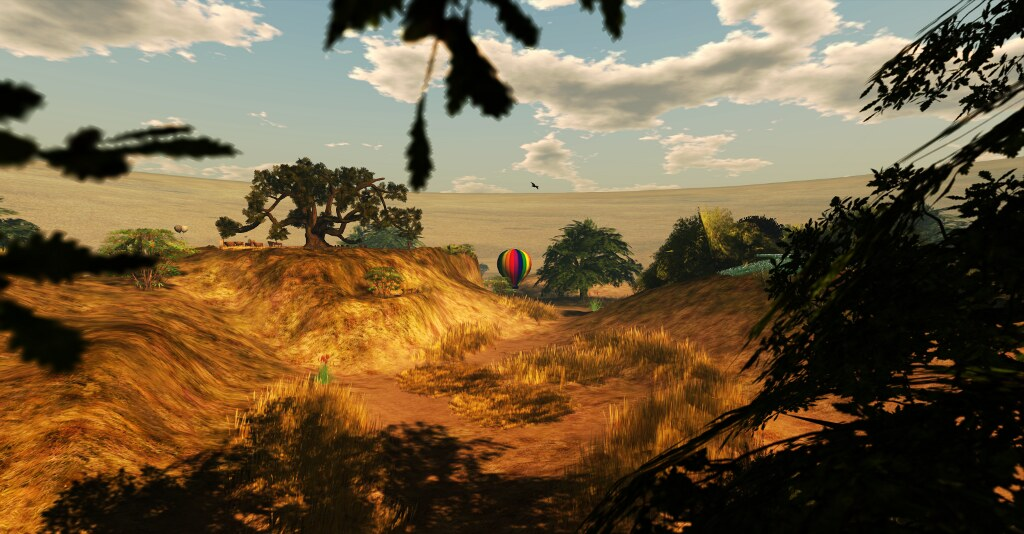 Noweeta Grassland's landscape (by Ricco Saenz)