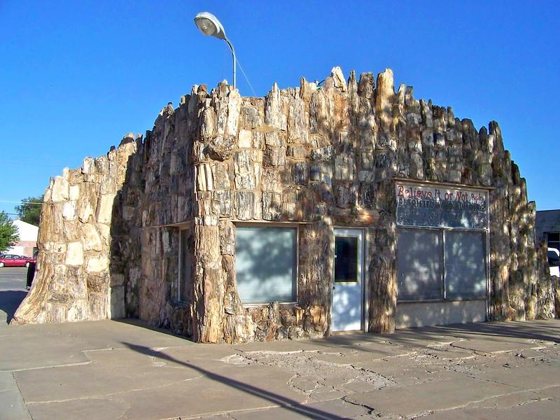 Petrified Wood Building