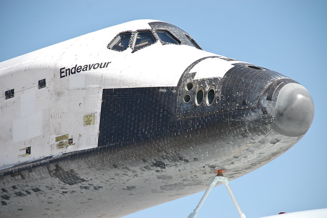 Endeavour and 747 SCA