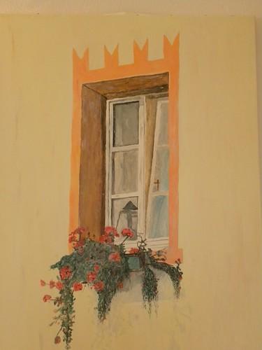 ora - bolzano - 27-09-2012 - finestra ... dipinta