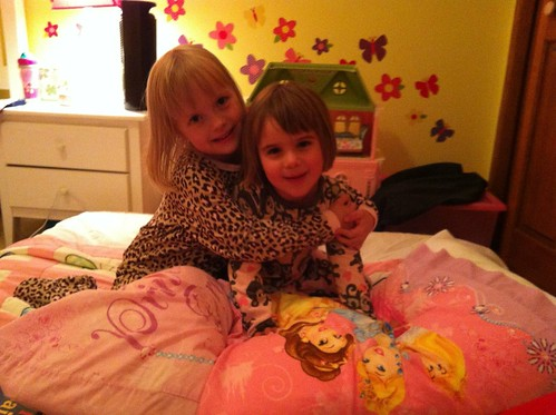 Maria and Lilah's Sleepover