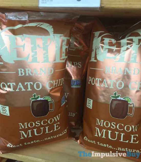 Kettle Brand Moscow Mule Potato Chips