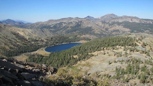 Hiram Peak and Highland Lakes