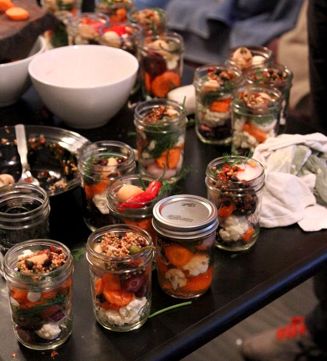 jars filled