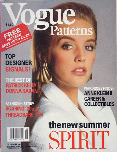 Vogue Patterns magazine, Summer 1988 (UK edition)
