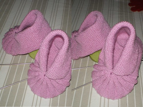 Tricot facile Chaussons hollandais adultes