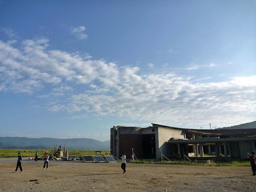 大川小学校, 石巻市追波湾の長面漁港そばでお手伝い (援人) Volunteer work at Ishinomaki (MIyagi pref.), Affrected by the Tsunami of Japan Earthquake
