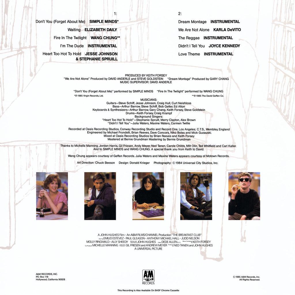 Various Artists - The Breakfast Club