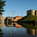 Clifford's Tower with moat!