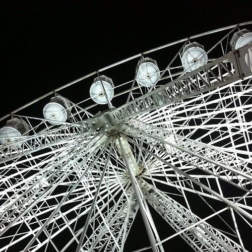 Fun times at the fair. #goosefair #nottsinvasion