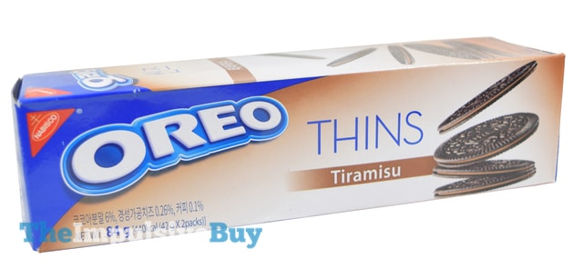 Nabisco Oreo Thins Tiramisu Cookies