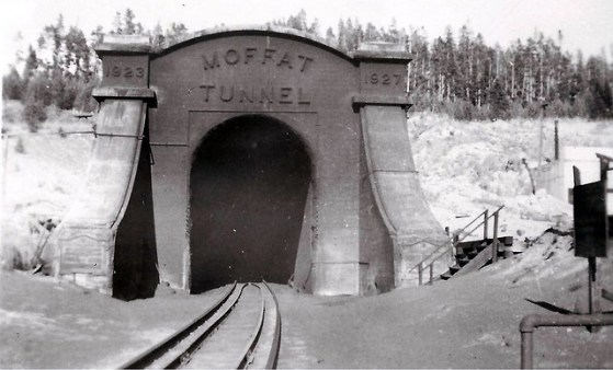 Moffit Tunnel, Colorado, Portal, Entrance, Railroad