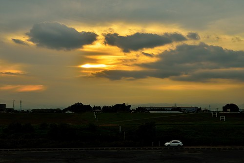 Day 273/366 : Sunset over the Bank by hidesax