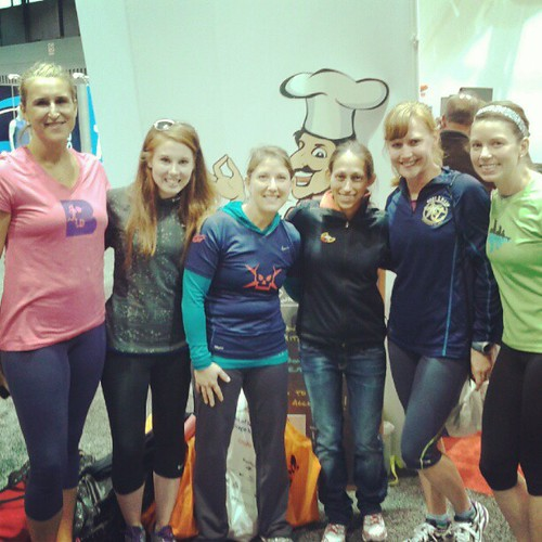 Meeting Desi Davila at the Chicago Marathon expo #chimarathon